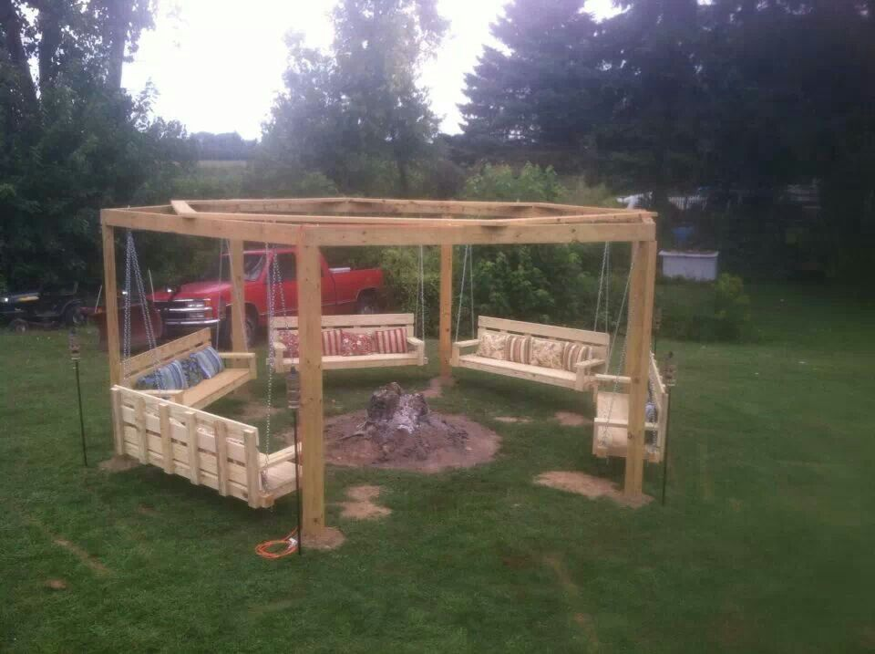 backyard swing circle someday for the home pinterest
