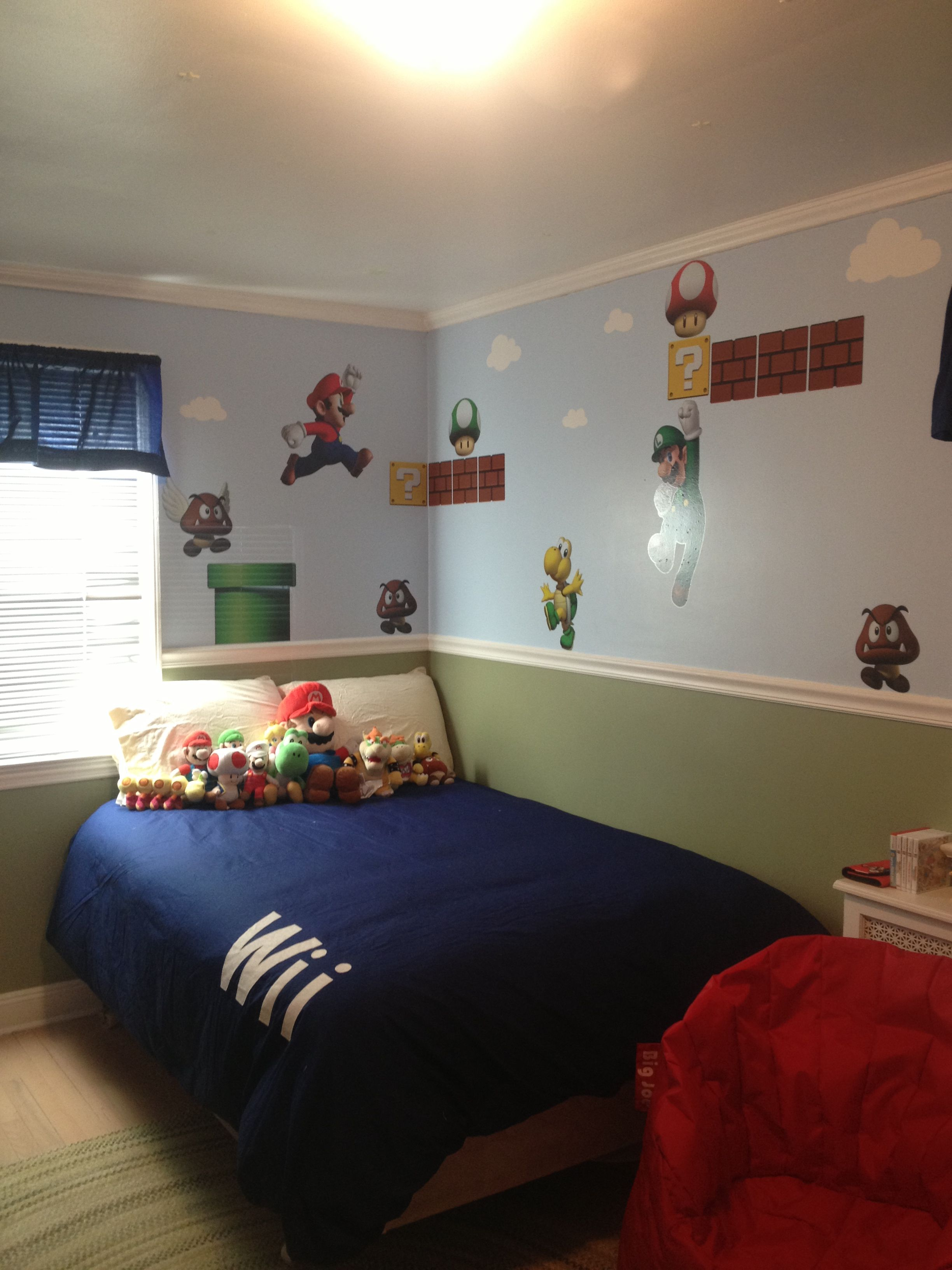 super mario bedroom home pinterest
