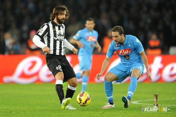 Juventus Napoli Su Sky Streaming Diretta Tv E Probabili Formazioni Juventus Andrea Pirlo Calcio