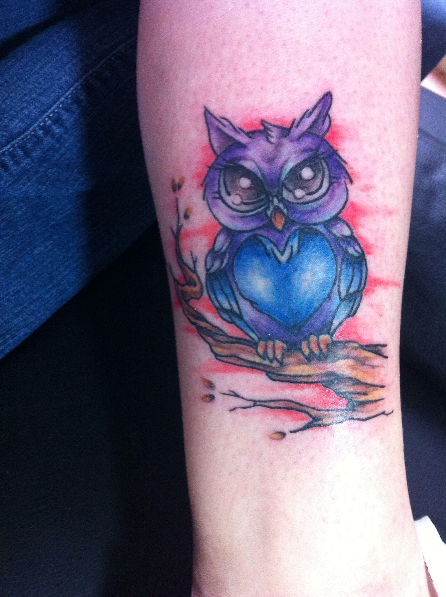 My Owl Tattoo  Inspiration Pinterest