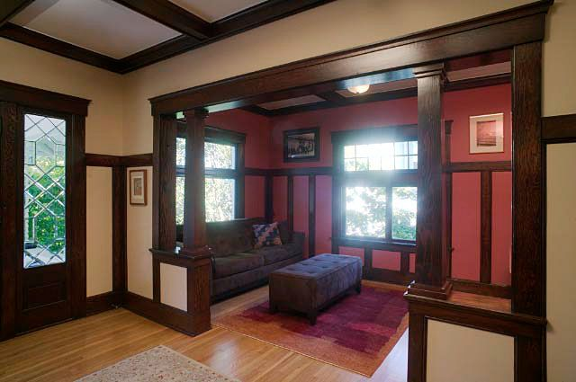Craftsman Interior House And Home Pinterest