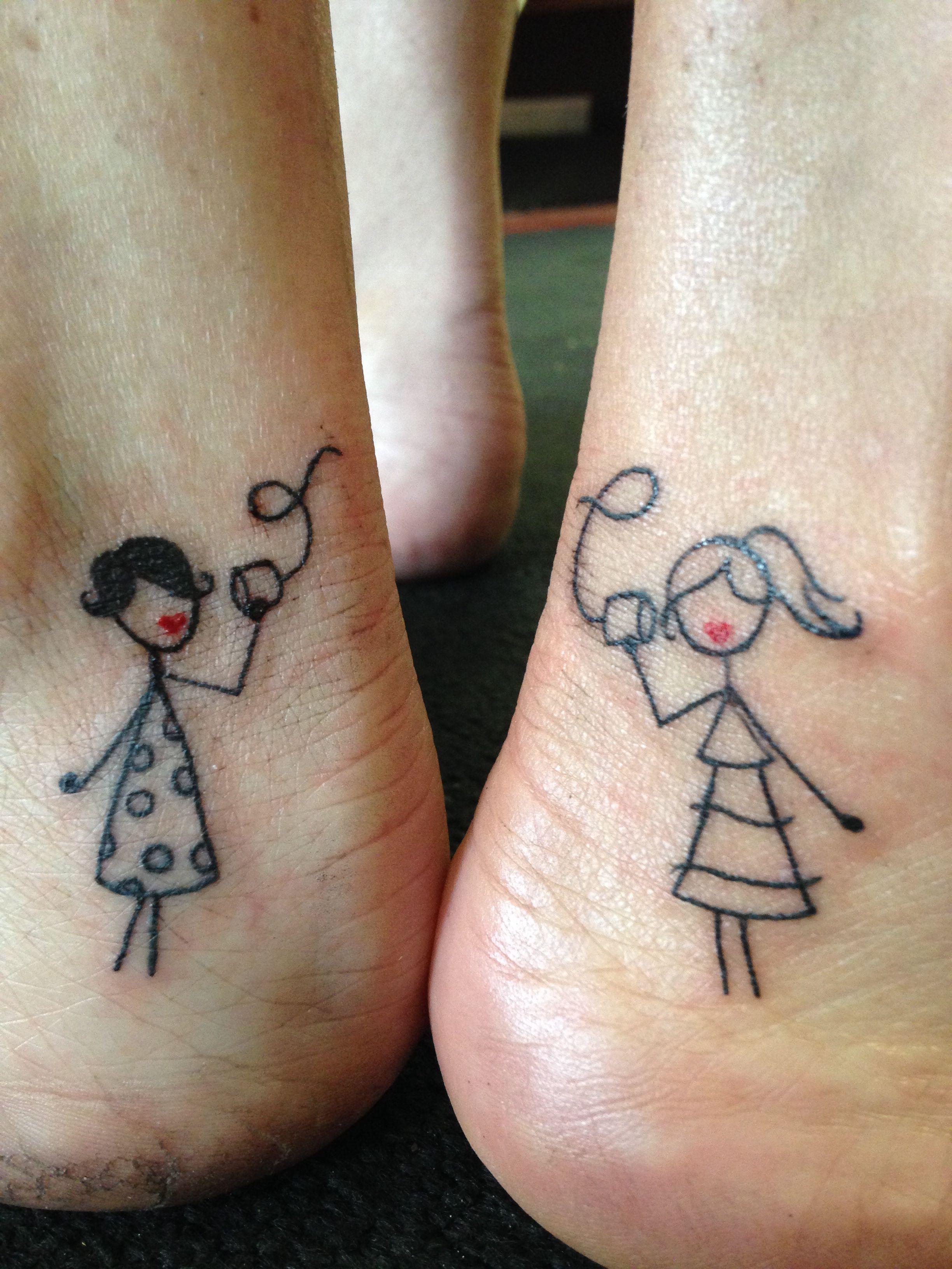 bestie tattoos bff t