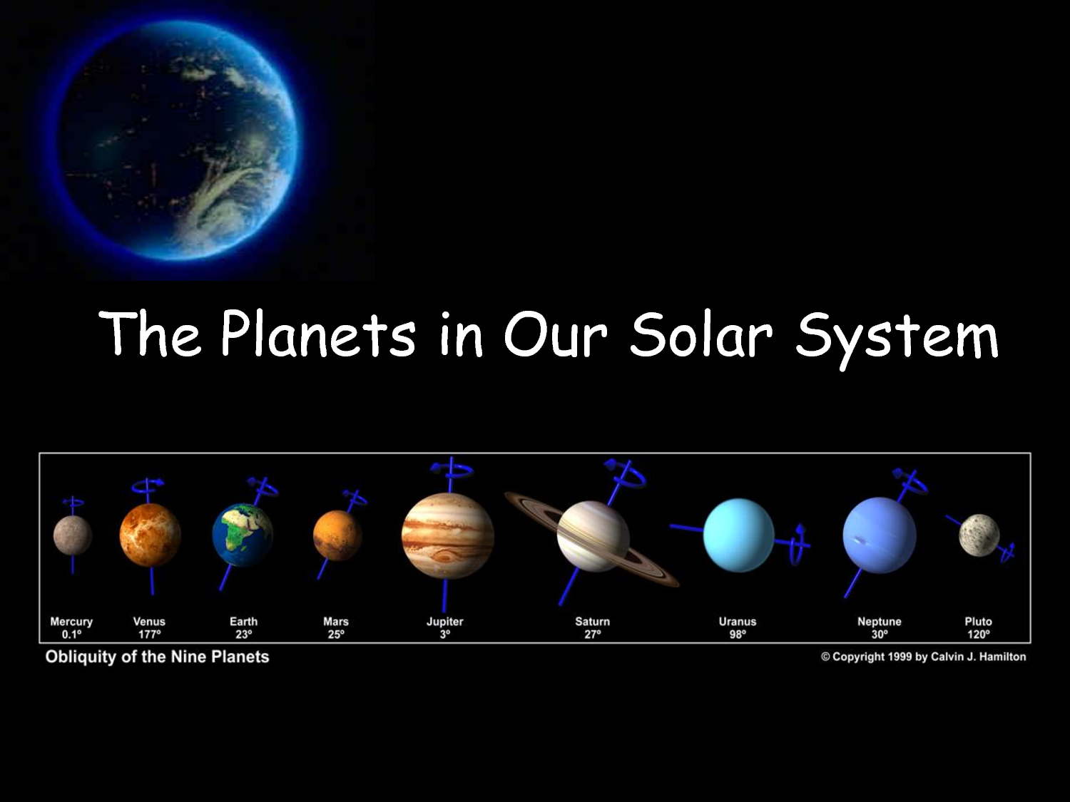 Our Solar System: Seymour Simon Pictures of our solar system in order