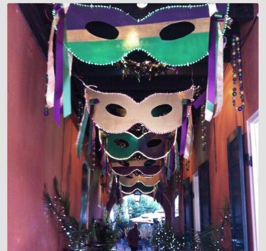 Mardi Gras Decorations Masquerade Theme Pinterest