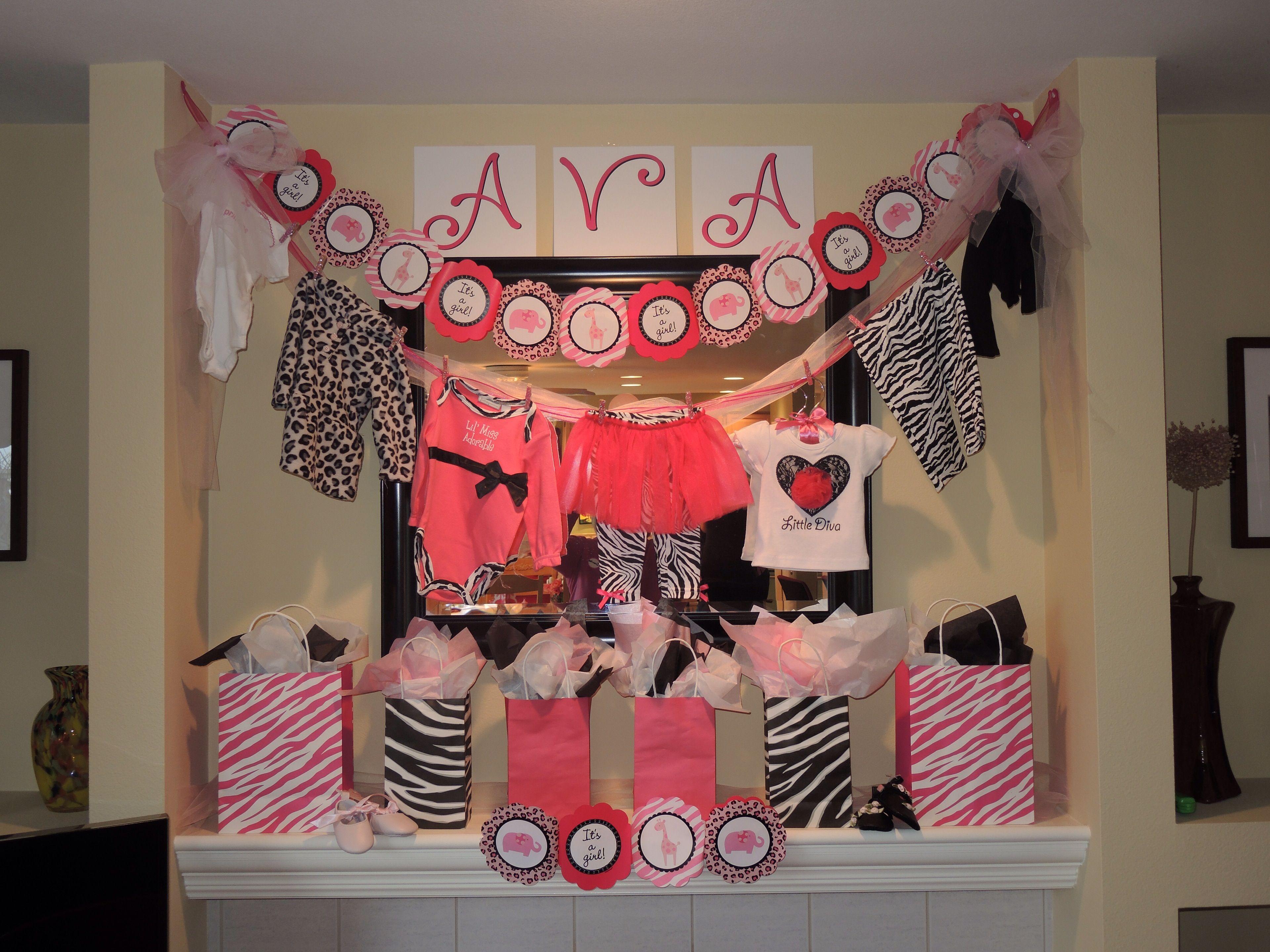 pink safari baby shower baby shower pinterest