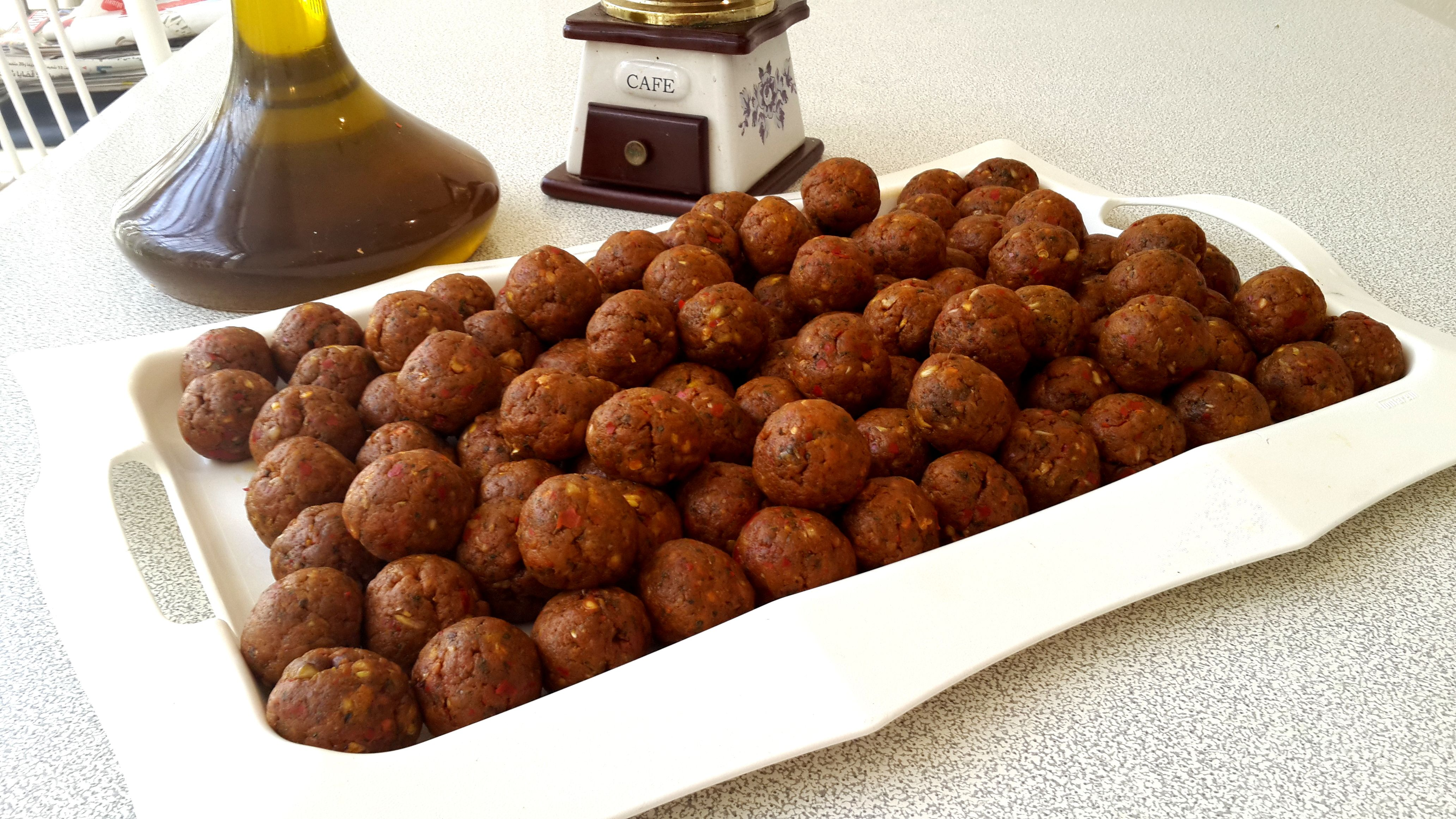 Boulettes de la madfouna tunisienne cuisine tunisienne for Cuisine tunisienne