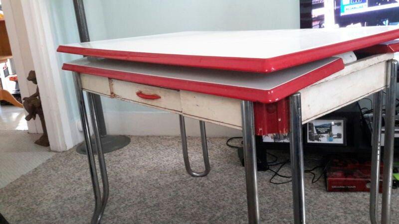 1940s 50s kitchen table ole days