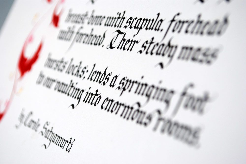 Calligraphy poems lettering and pinterest