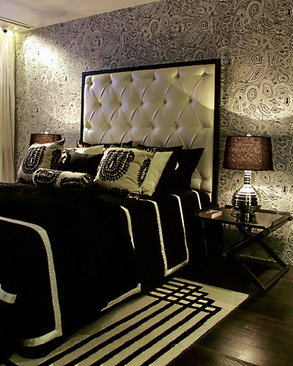 elegant headboard  Bedrooms  Pinterest