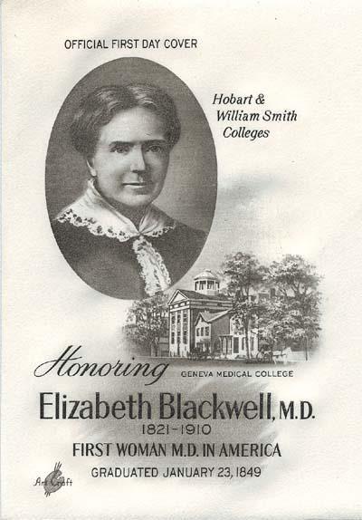 Elizabeth Blackwell (3 February 1821 – 31 May 1910) was ...