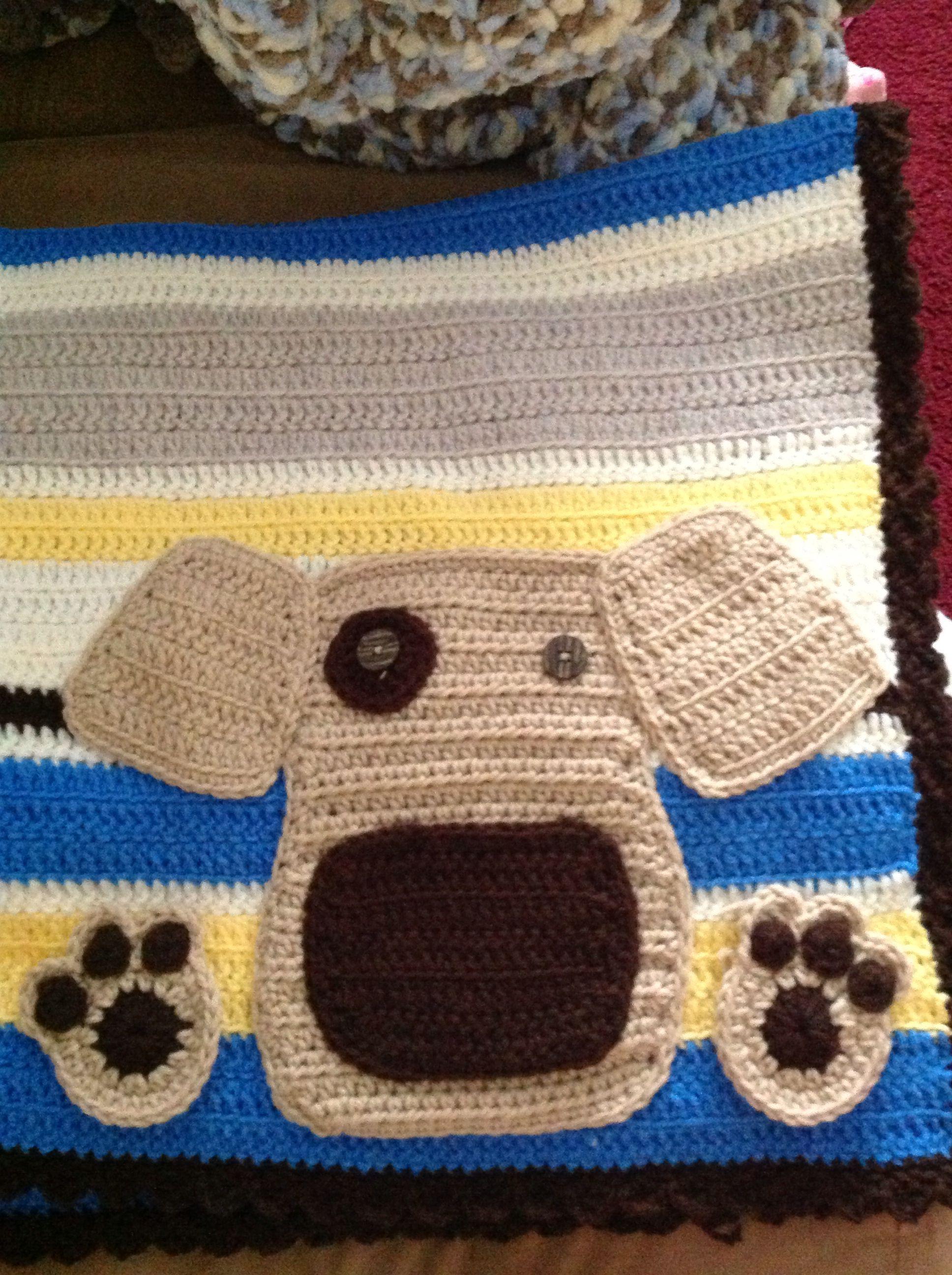 Crochet Pattern For Dog Blanket : Dog crochet blanket. Crafts Pinterest