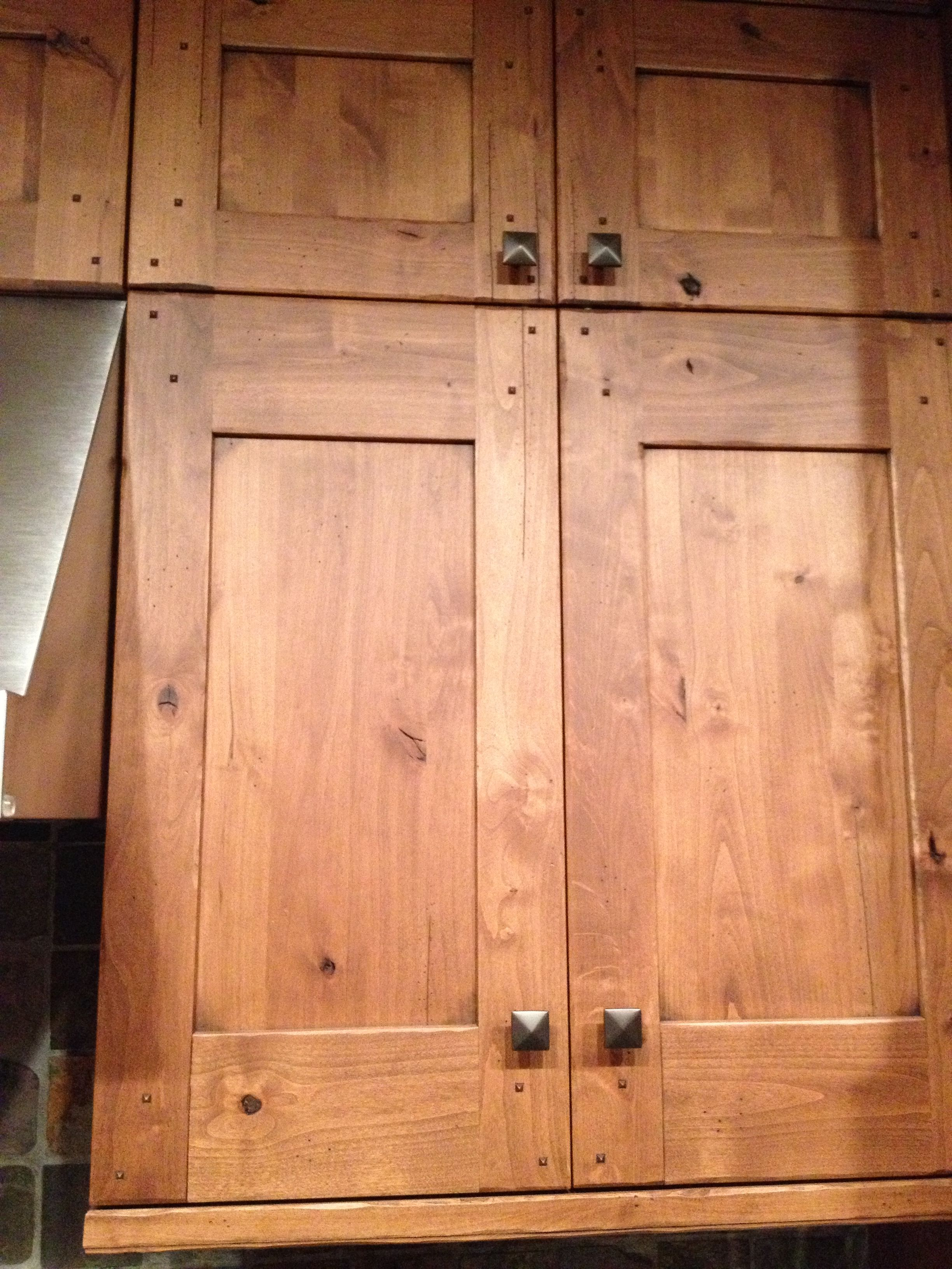 Cedar cabinets kitchens pinterest - Kitchen door ...