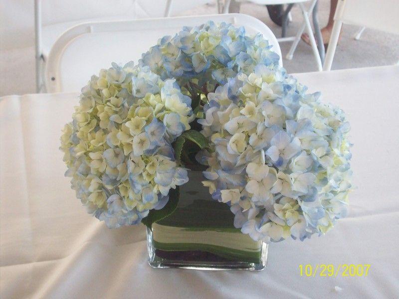 Diy centerpiece hydrangea beach wedding pictures