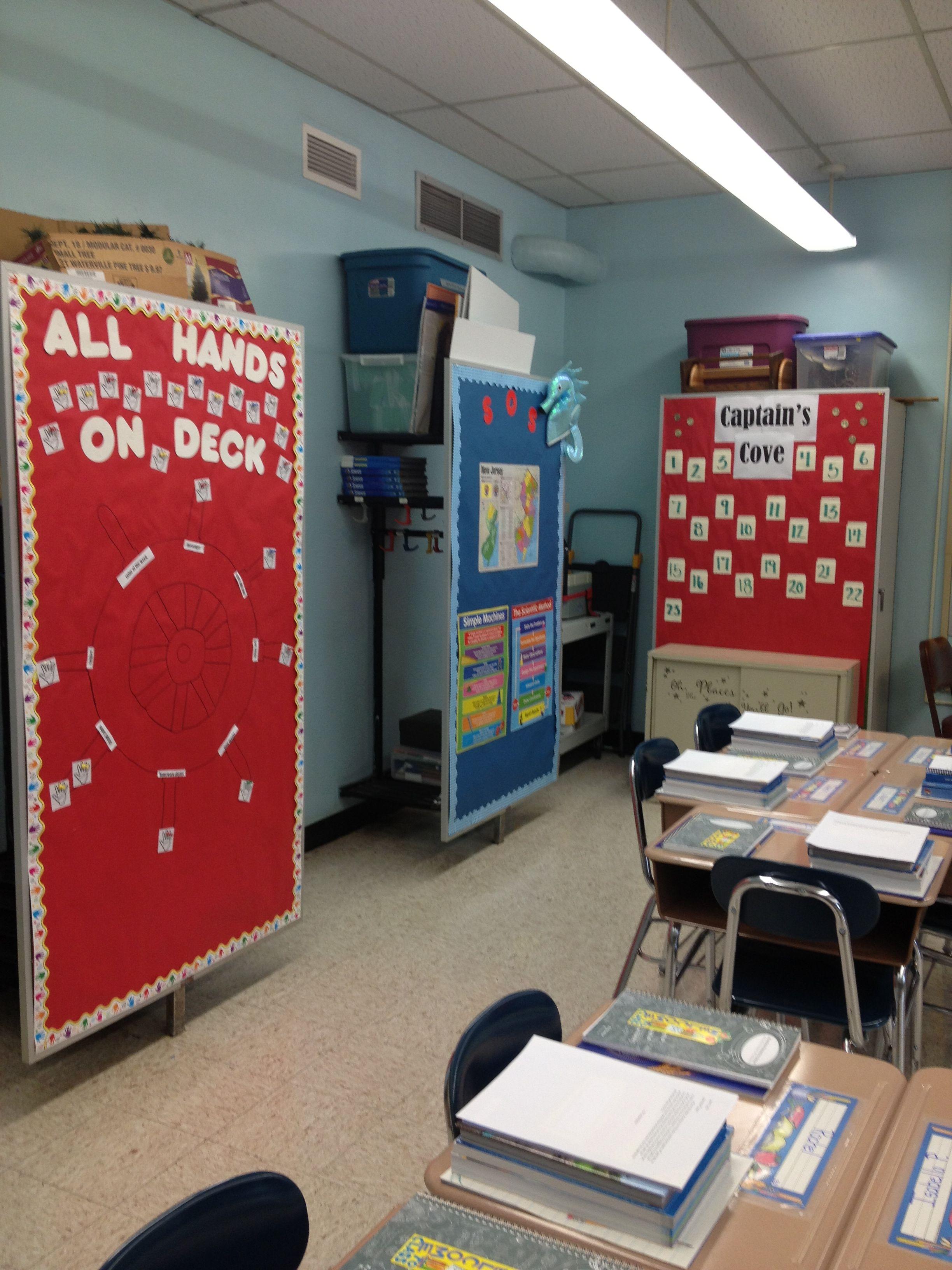 Classroom Decor Nautical : Nautical theme classroom decor set up ideas