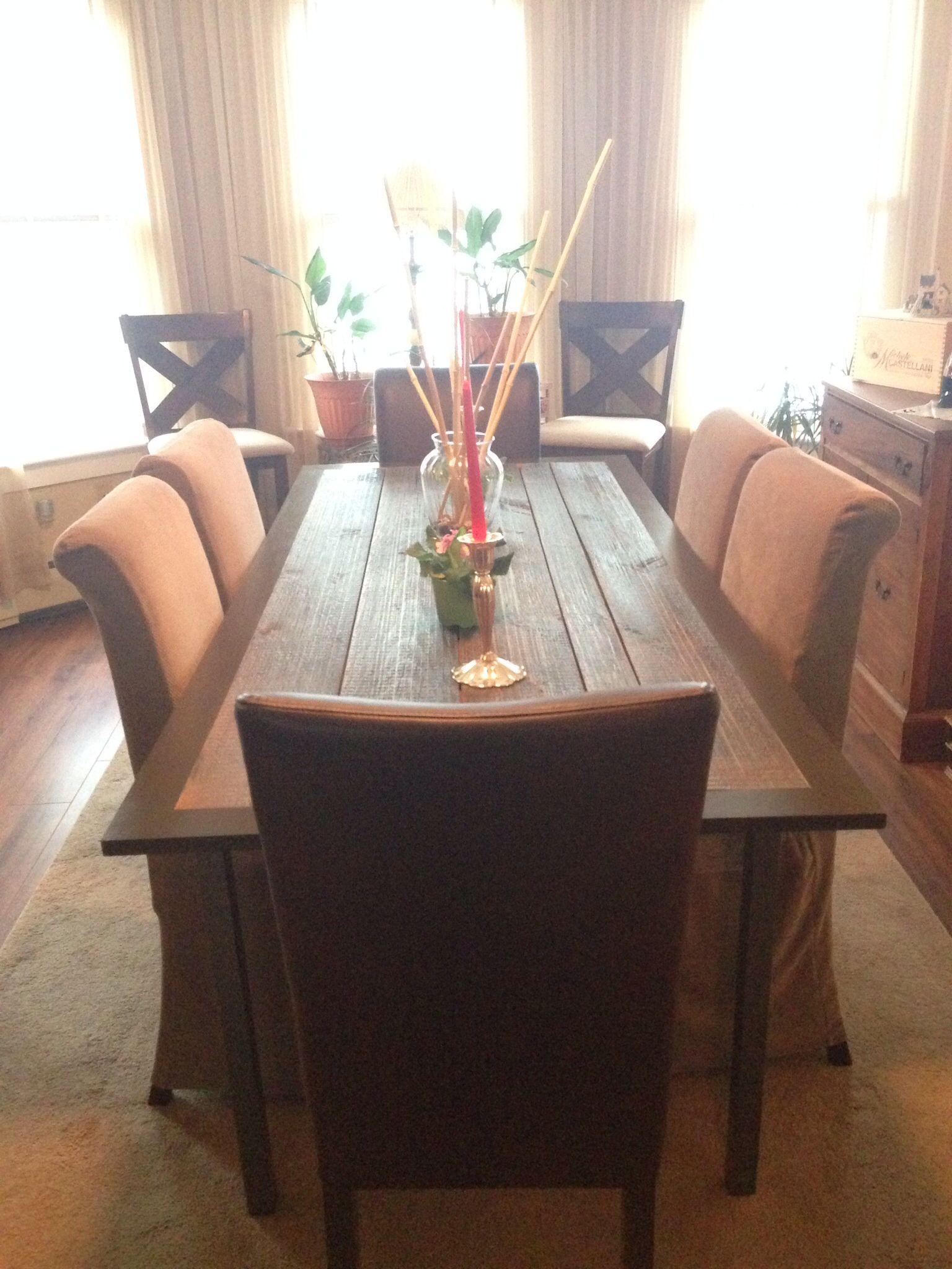 Barn Door Table Dining Room Ideas Pinterest