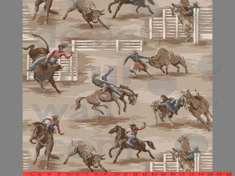 rodeo wallpaper interior ideas kids pinterest