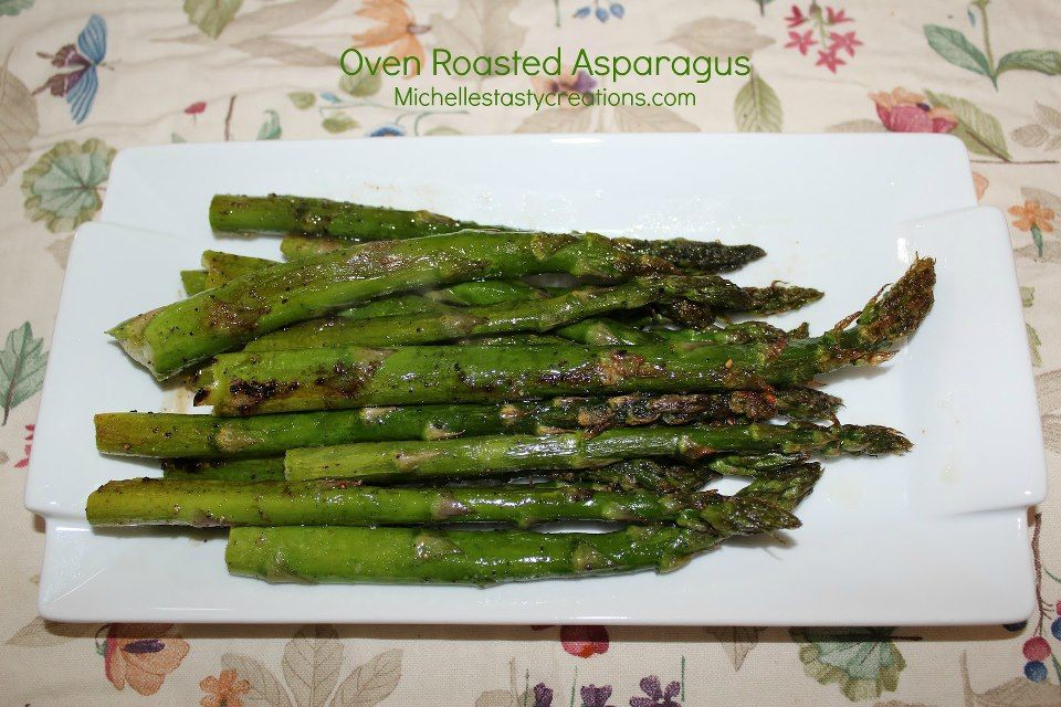 Oven roasted asparagus. | REAL Food! Side Dishes and Salads | Pintere ...