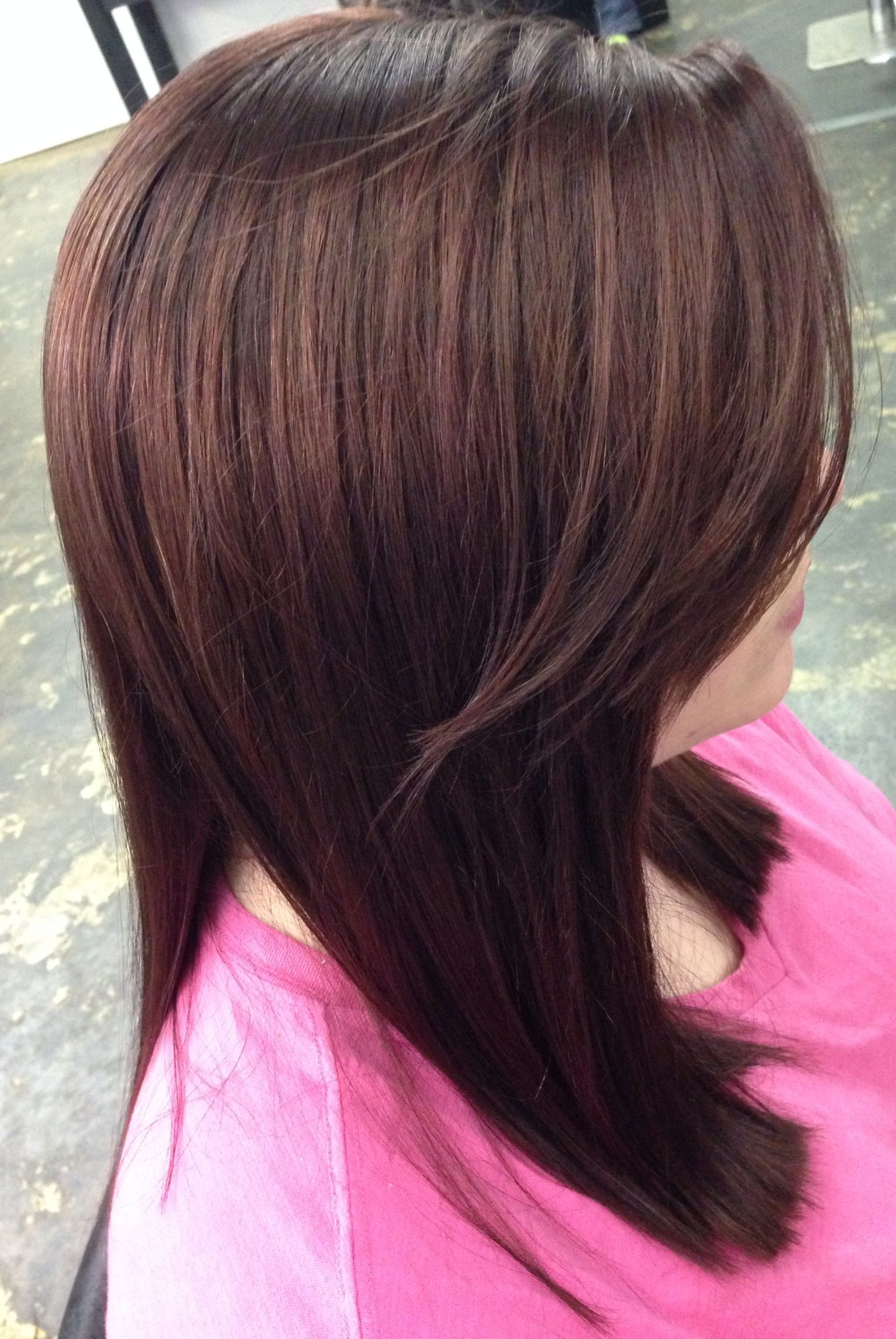 Rich Cherry Cola Color | Hair & Beauty | Pinterest