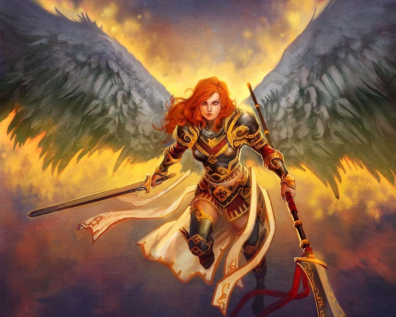 female angel warrior pictures - photo #15