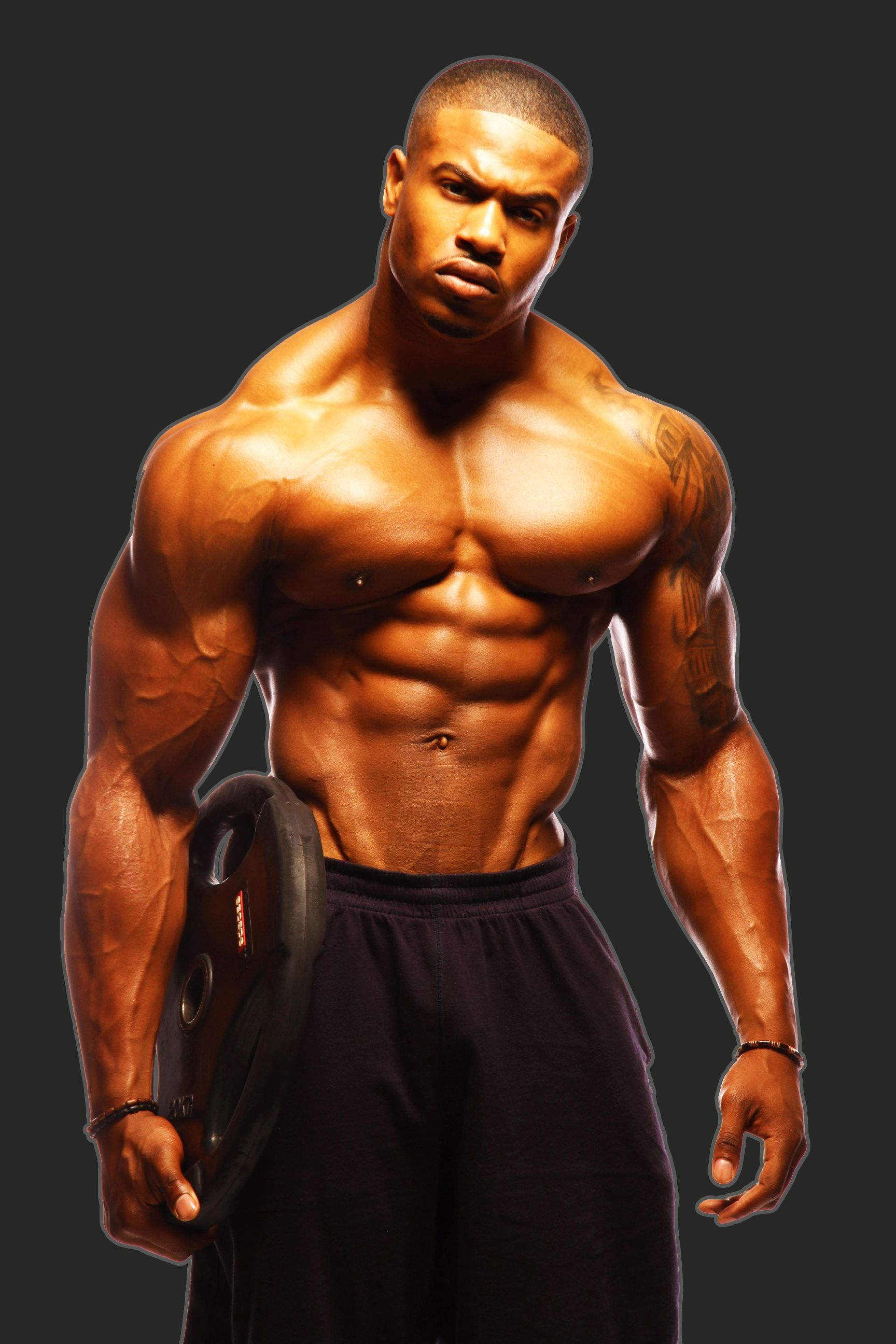 Simeon Panda. | Black Bodybuilders | Pinterest