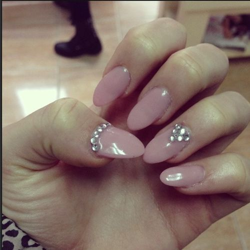 Almond Acrylic Nails Pinterest Almonds Vertaling