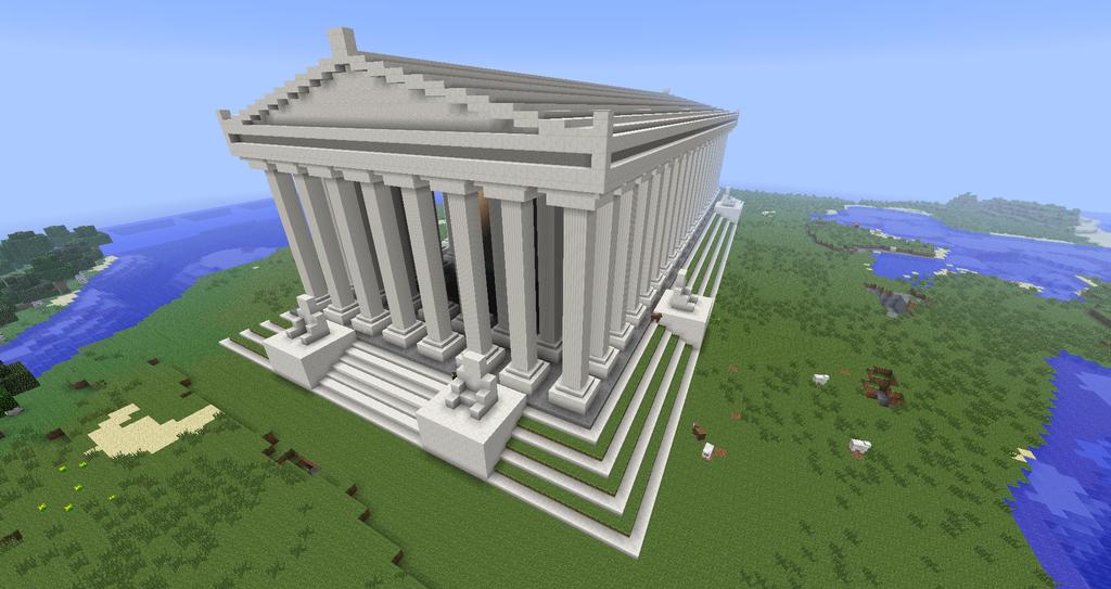 Видео майнкрафт как сделать храм