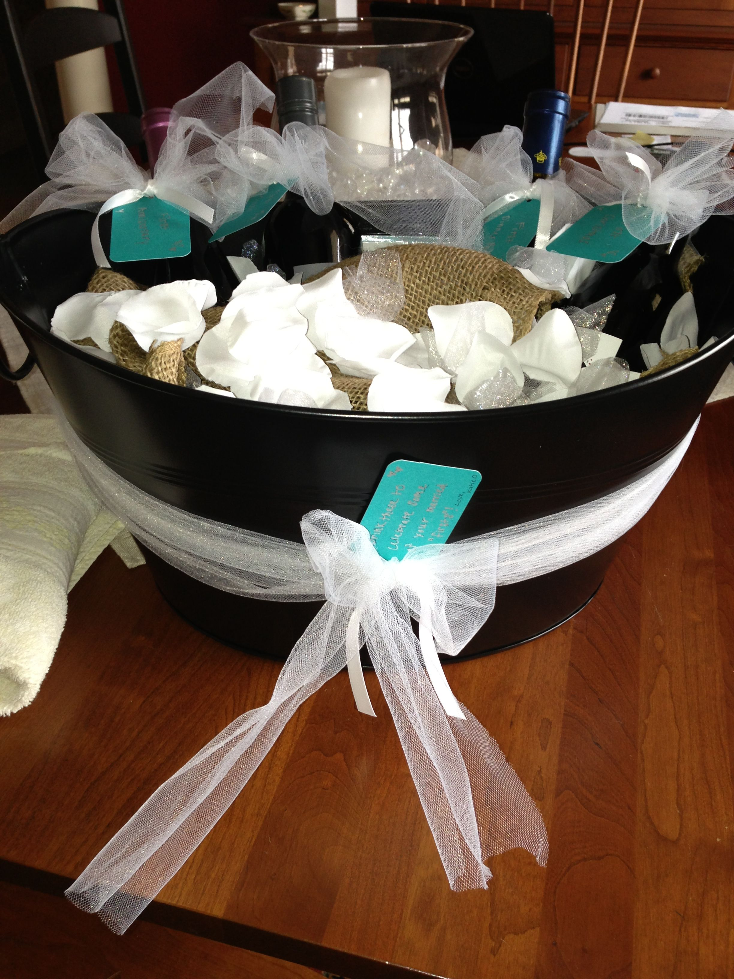 Wedding Shower Gift Diy : DIY bridal shower gift gifts Pinterest