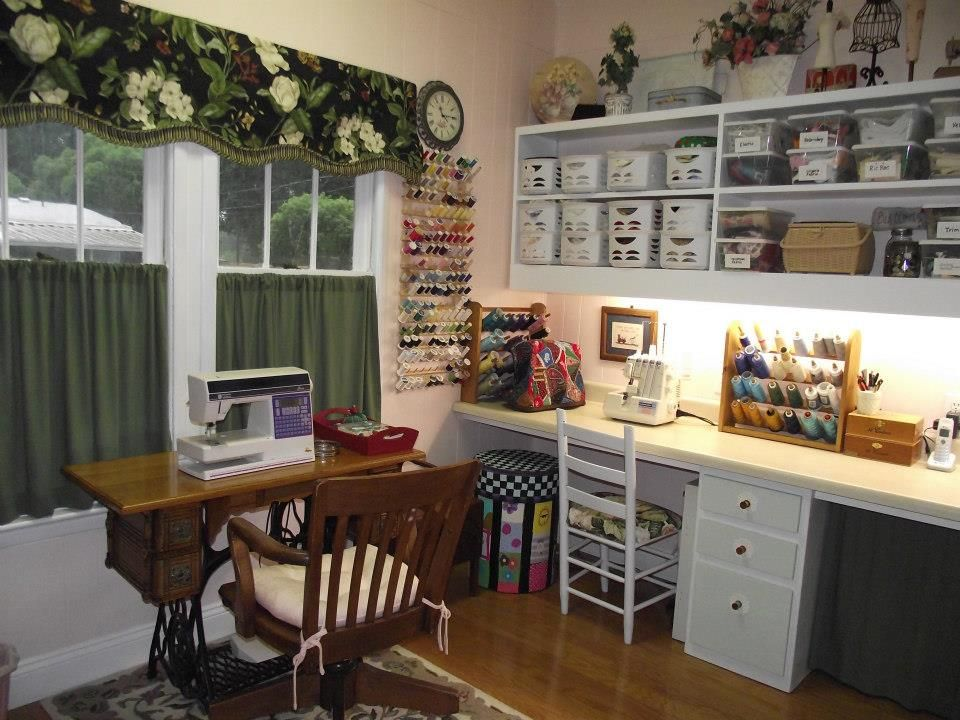 Everything Moved In And Set Up Sewing Room Project