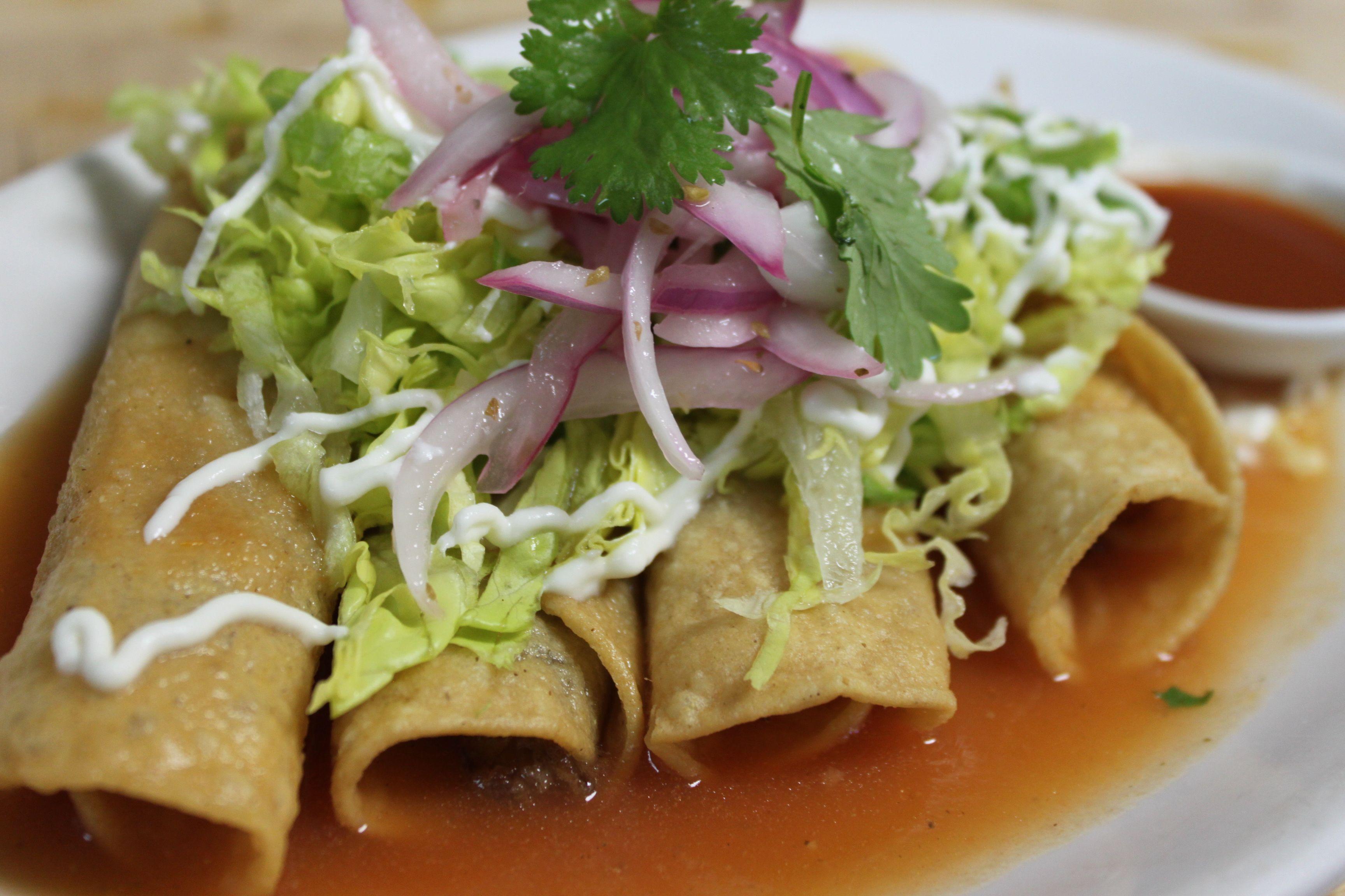 Crispy Pork Flautas | Taco Truck Menu | Pinterest