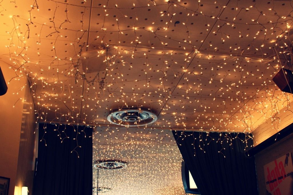 Christmas Lights on Ceiling | nifty | Pinterest