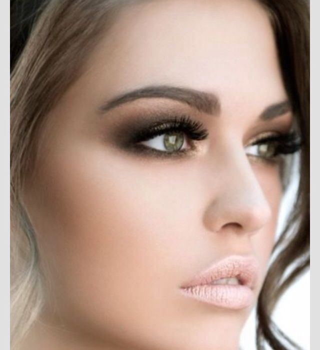 Beautiful Wedding Makeup Pictures : Beautiful makeup for green eyes One day Pinterest