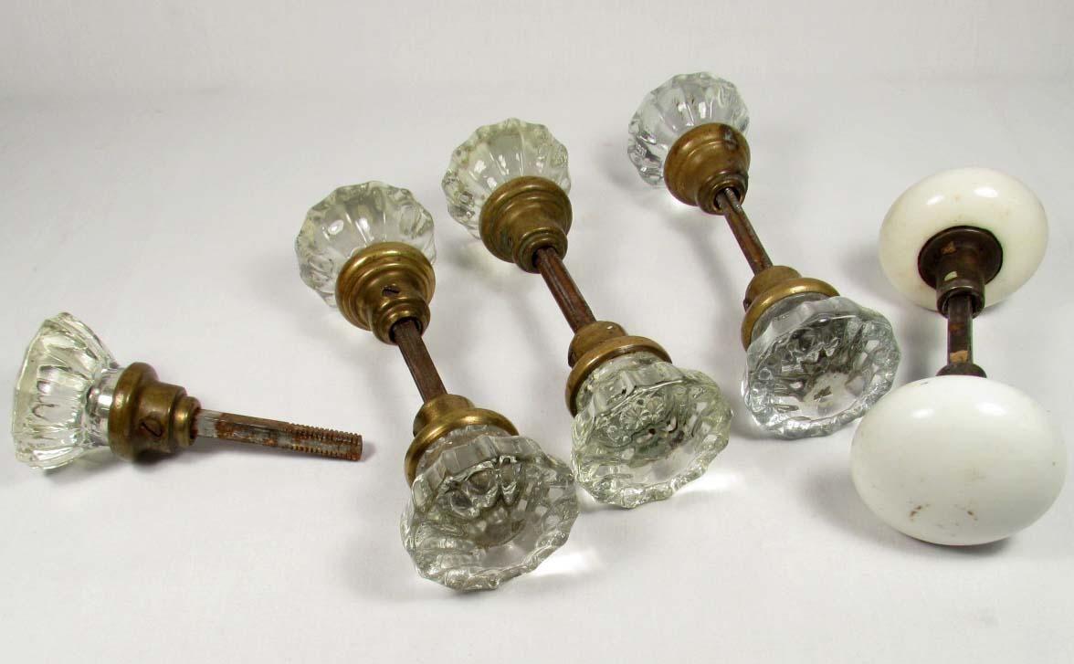 glass door knobs | Old Hardware | Pinterest
