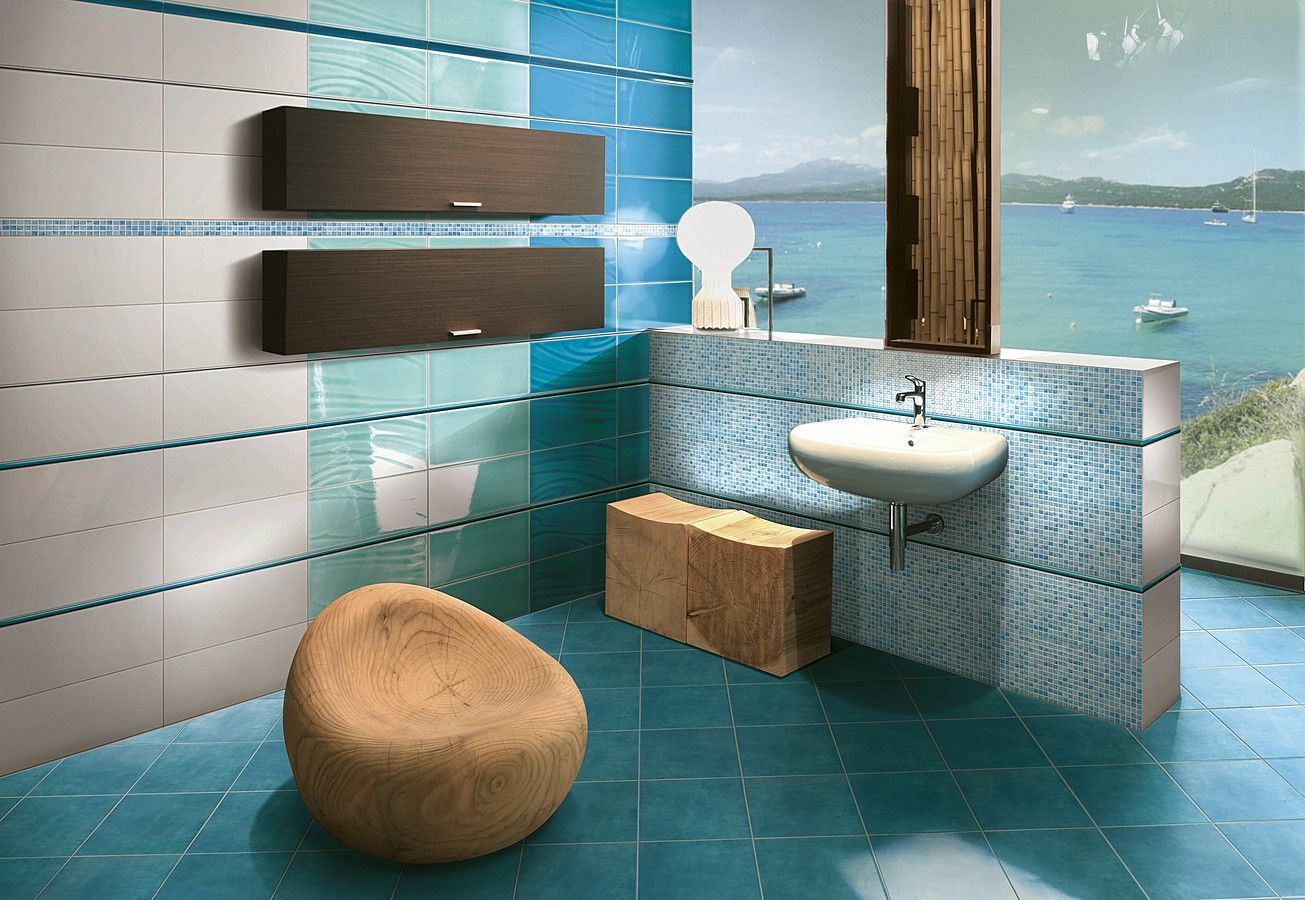 Badezimmer Grau Design