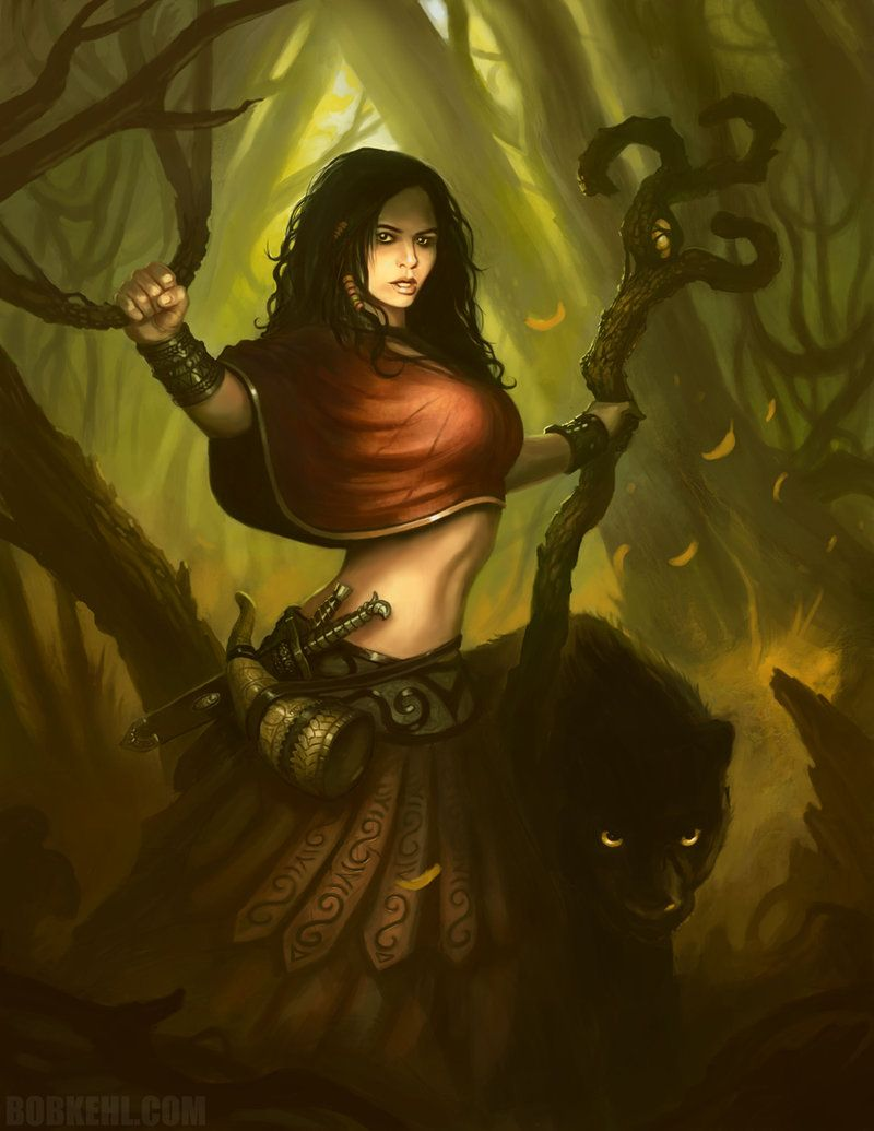 Druid girl hot sex photo
