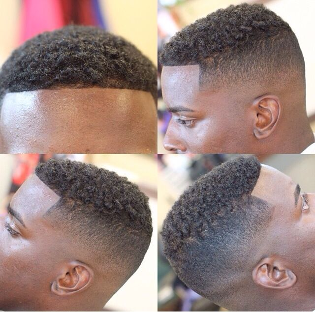 haircut fade black men - photo #31