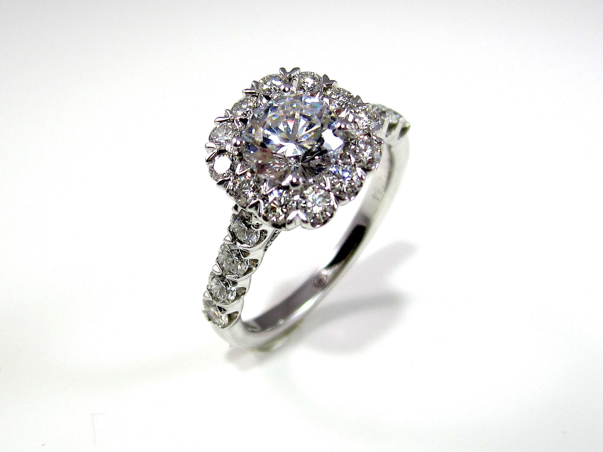 designs halo diamond ring engagement wedding ideas pi