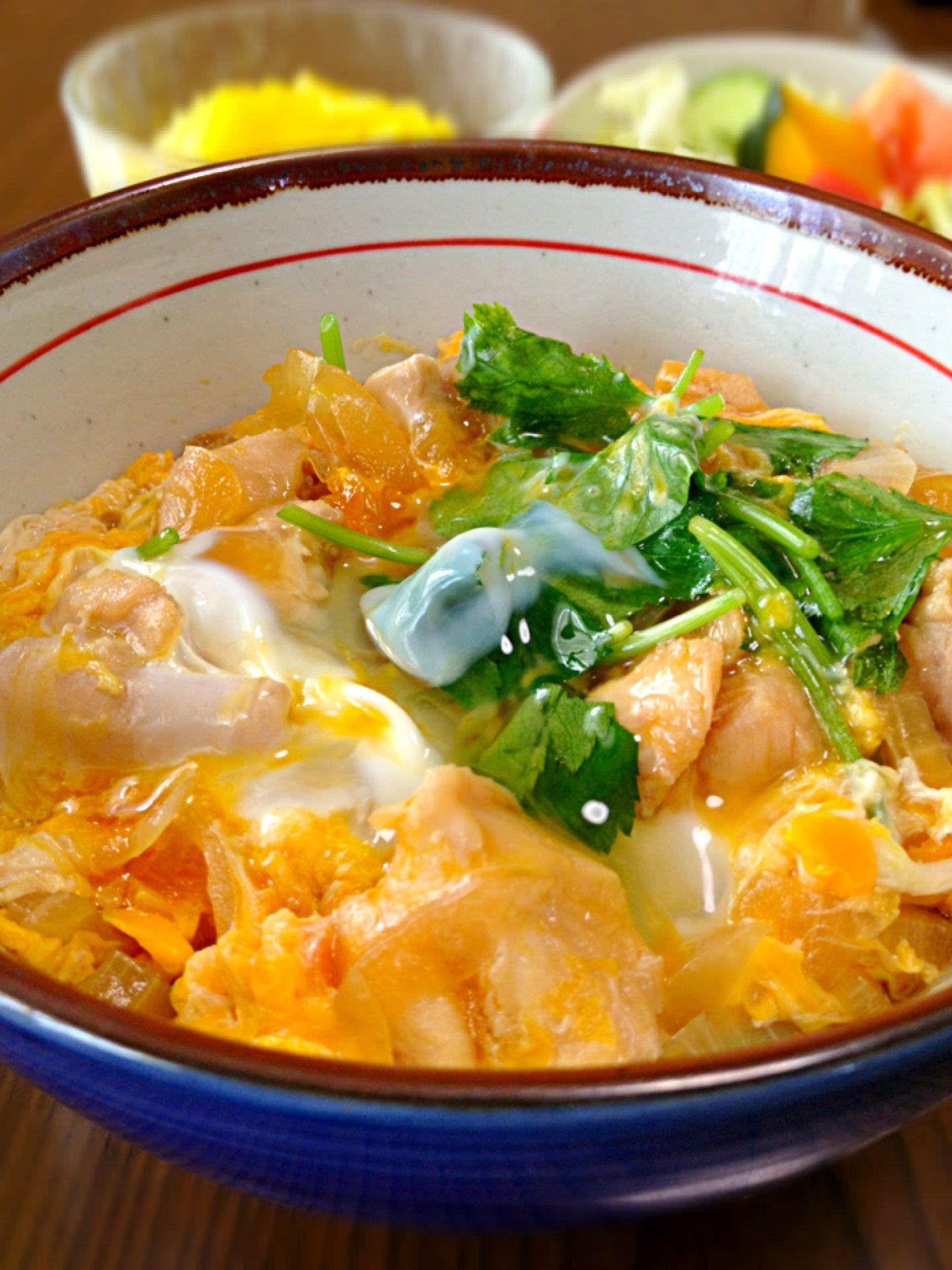 ... oyakodon chicken and egg rice bowl oyakodon recipe oyakodon all you
