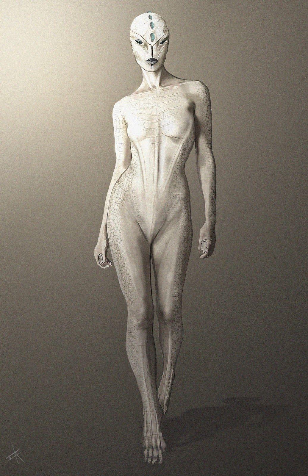 Female alien nude pics pron photos