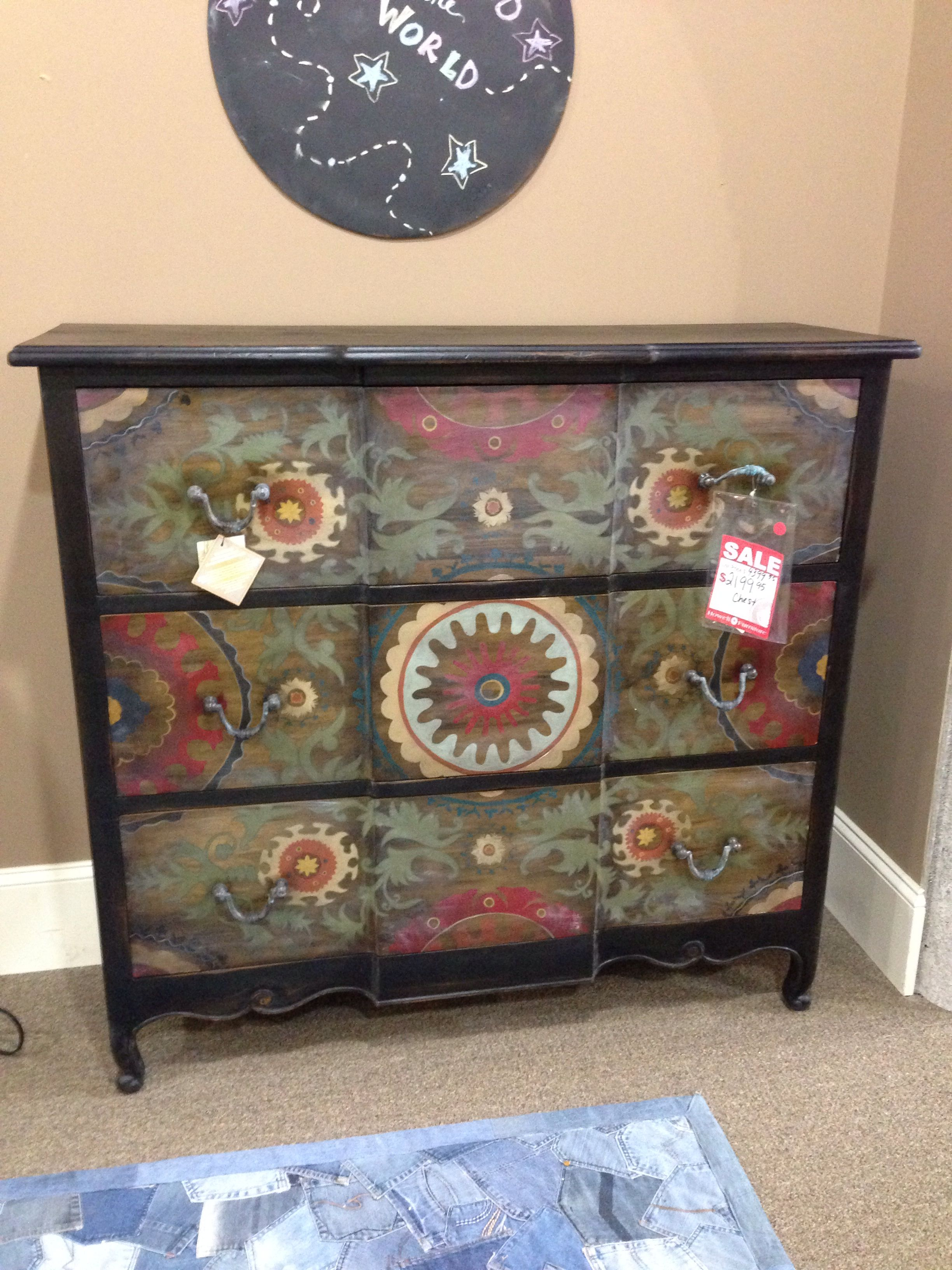 Could be fun painted furniture pinterest for Pinterest painted furniture