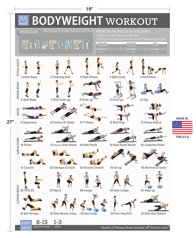 The Best Bodyweight Legs Workout Ever