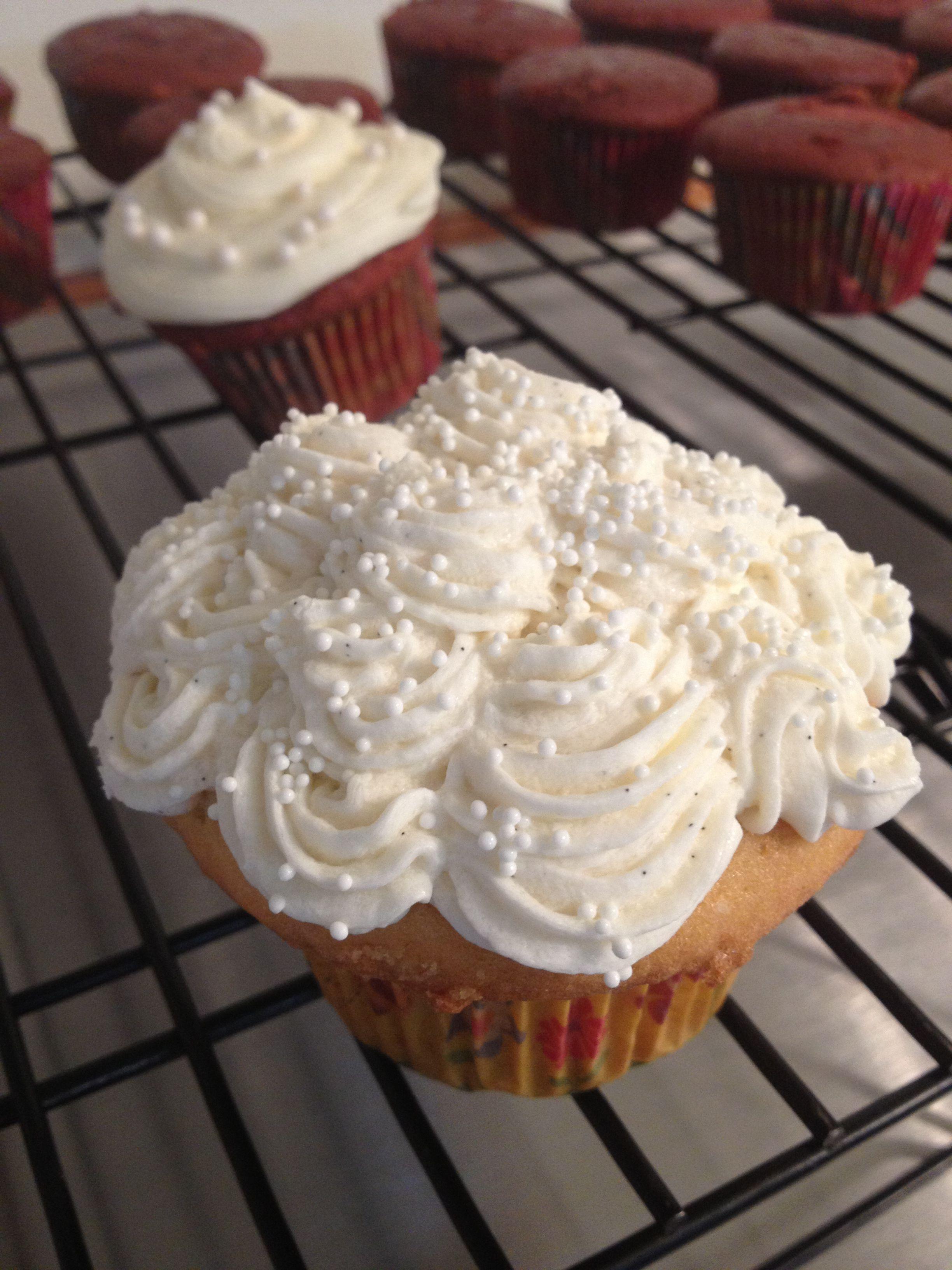 Madagascar double vanilla cupcake | The Sweet Life www.Facebook.com/t ...