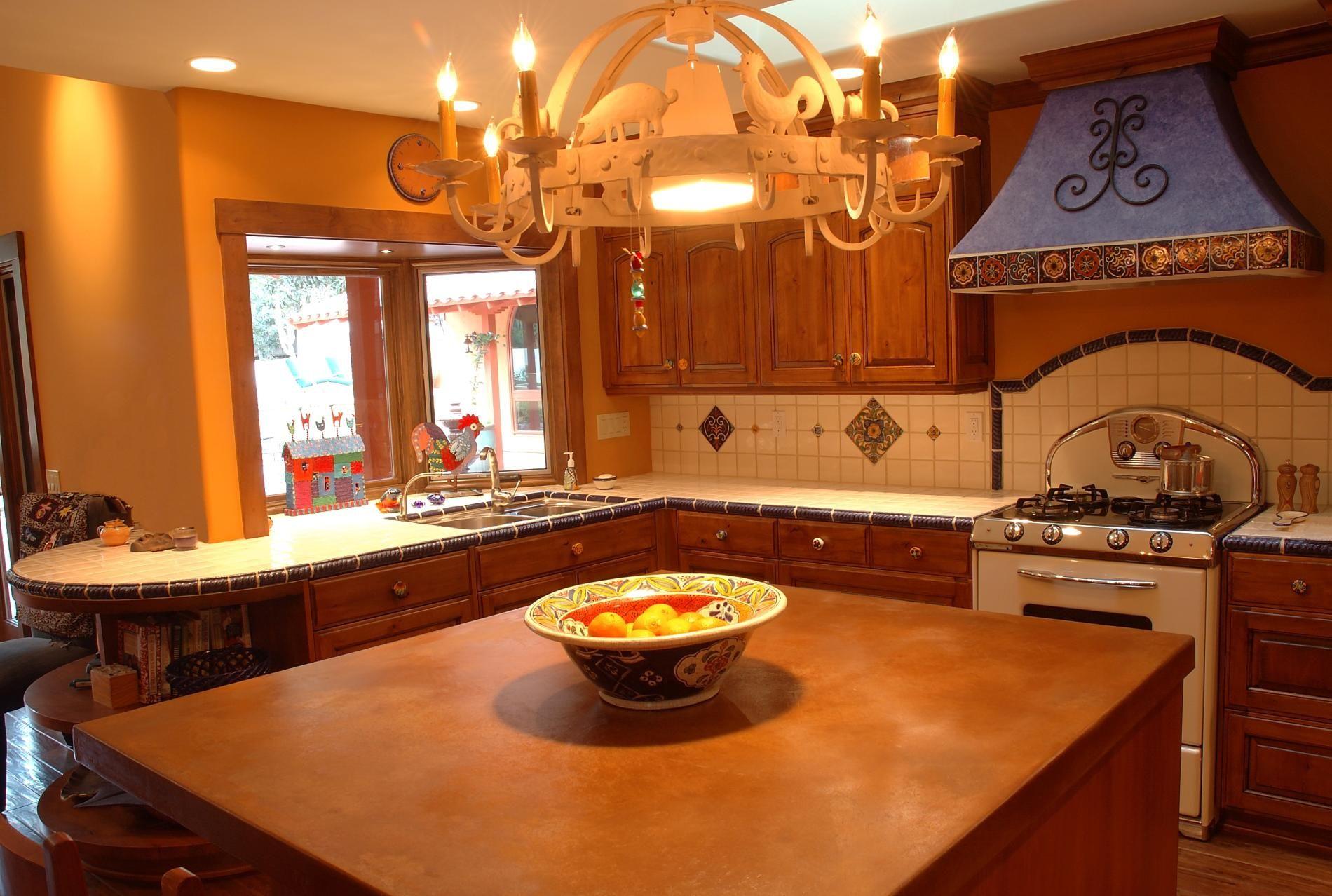 mexican kitchen design   Lynle Ellis Designs Mexican