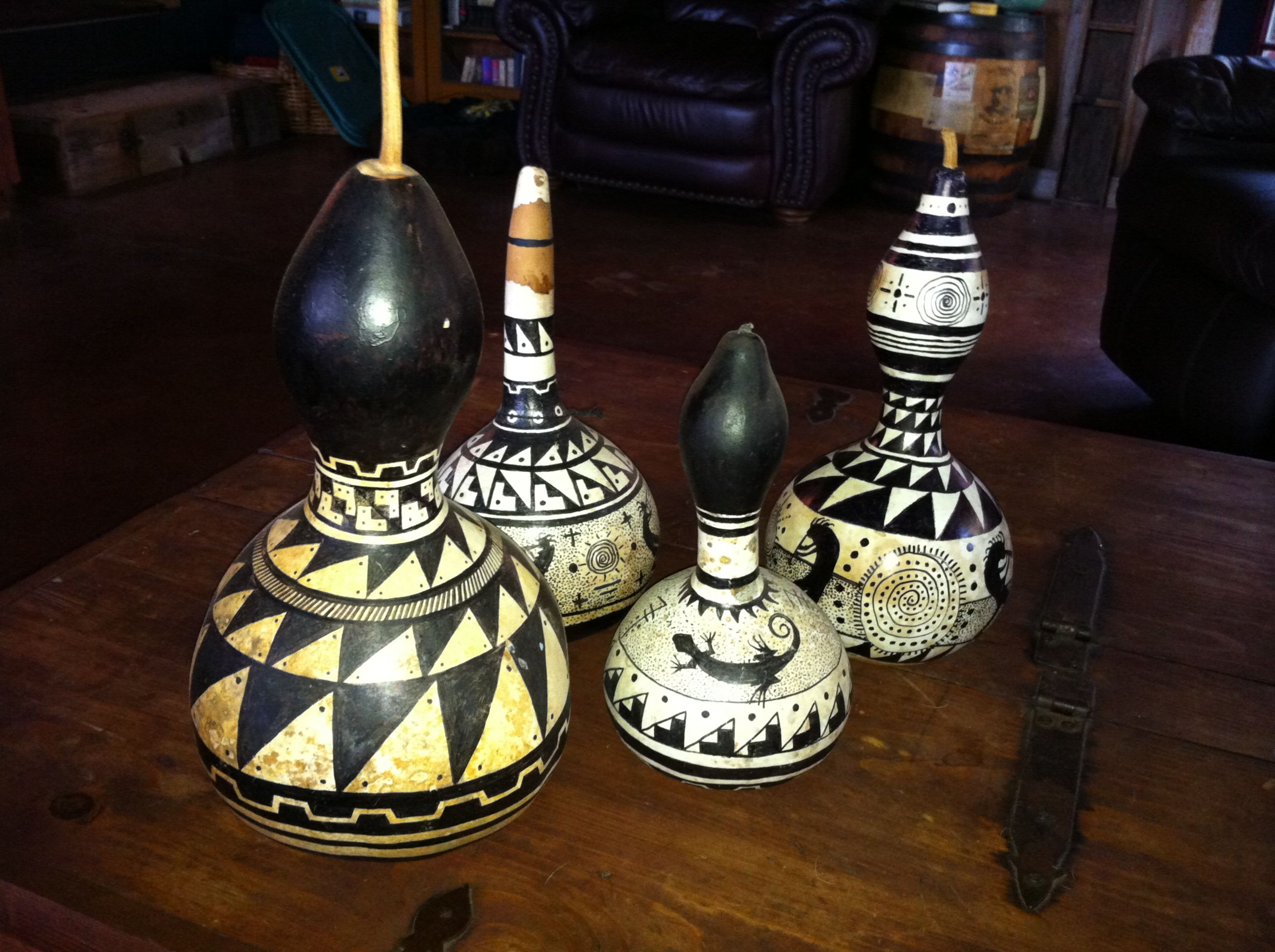 My hand painted gourds painted gourds pinterest