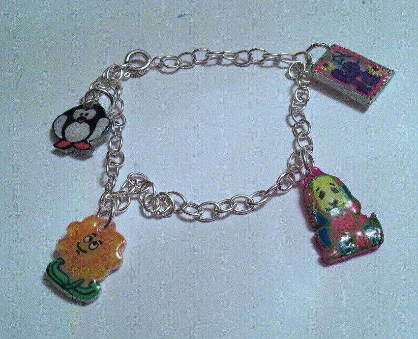 shrinky dink charm bracelet crafts