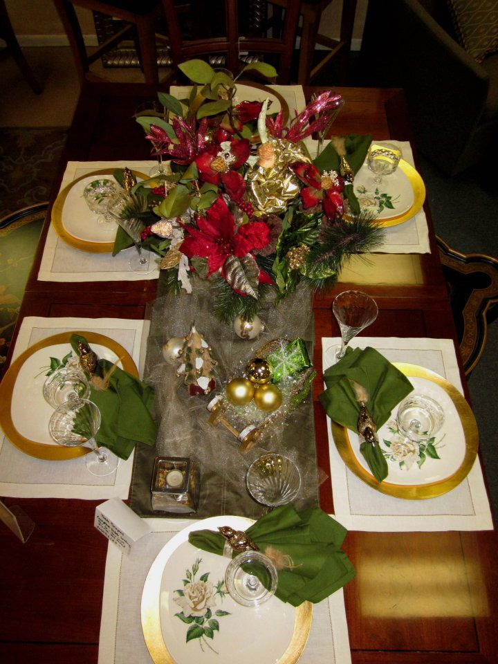 My Christmas Tablescape For Kathryn Mak Tablescapes