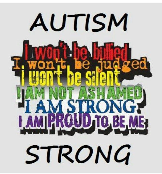 Autism Strong Autism Awareness Quotes Pinterest