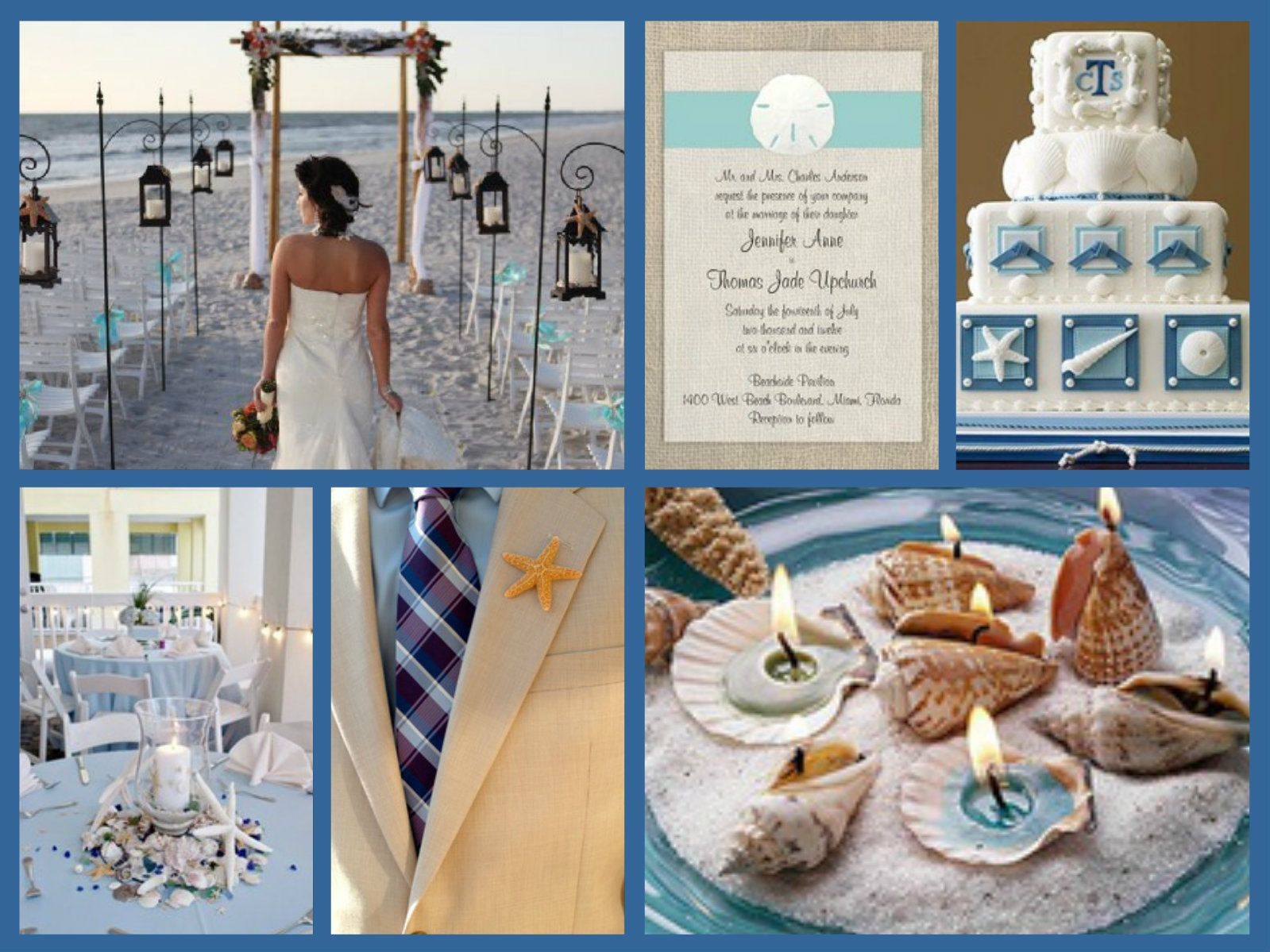 Beach Wedding Theme Vow Renewal Ideas Pinterest