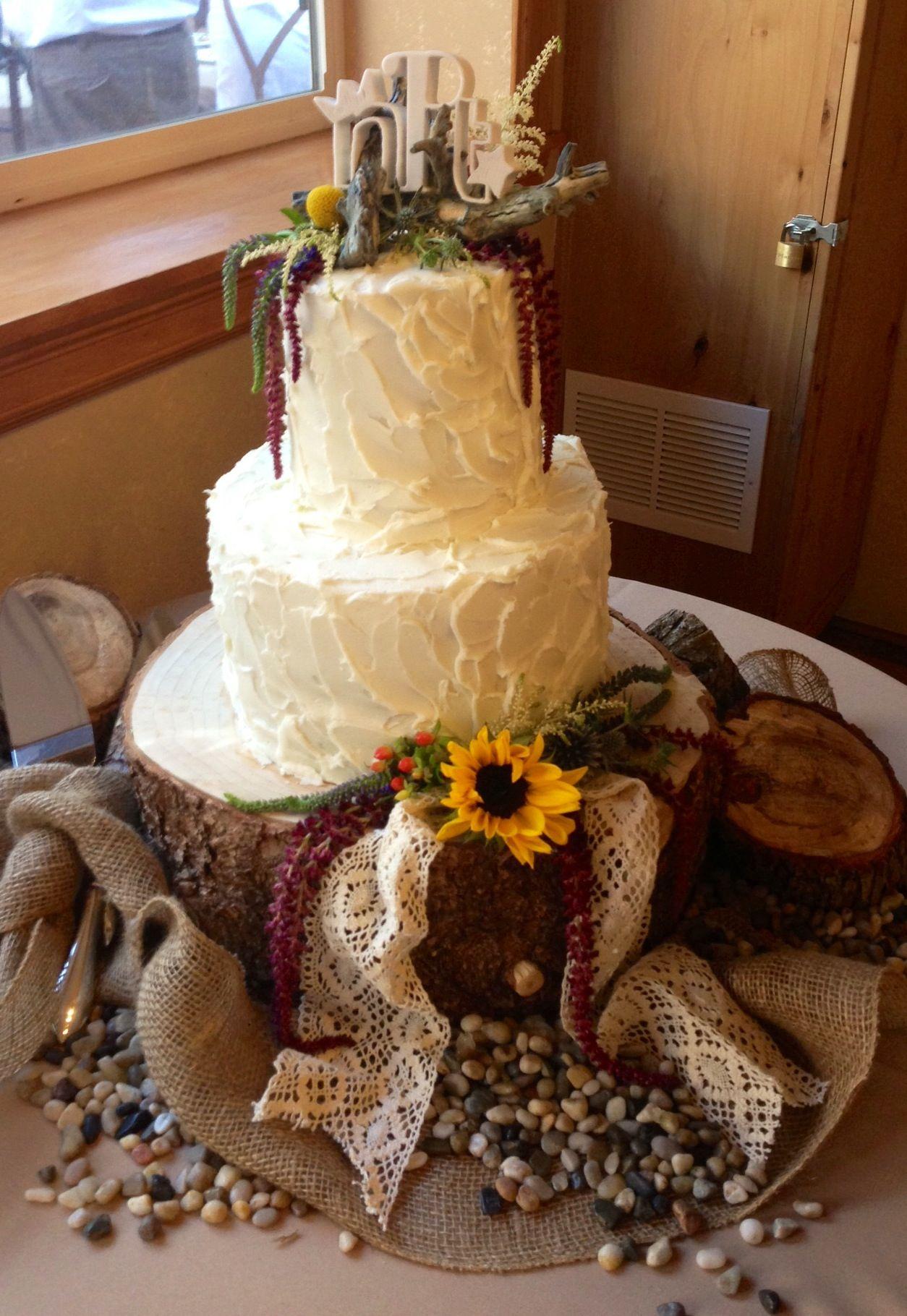 Wedding Cake Ideas For Rustic Wedding : Rustic wedding cake wedding ideas Pinterest