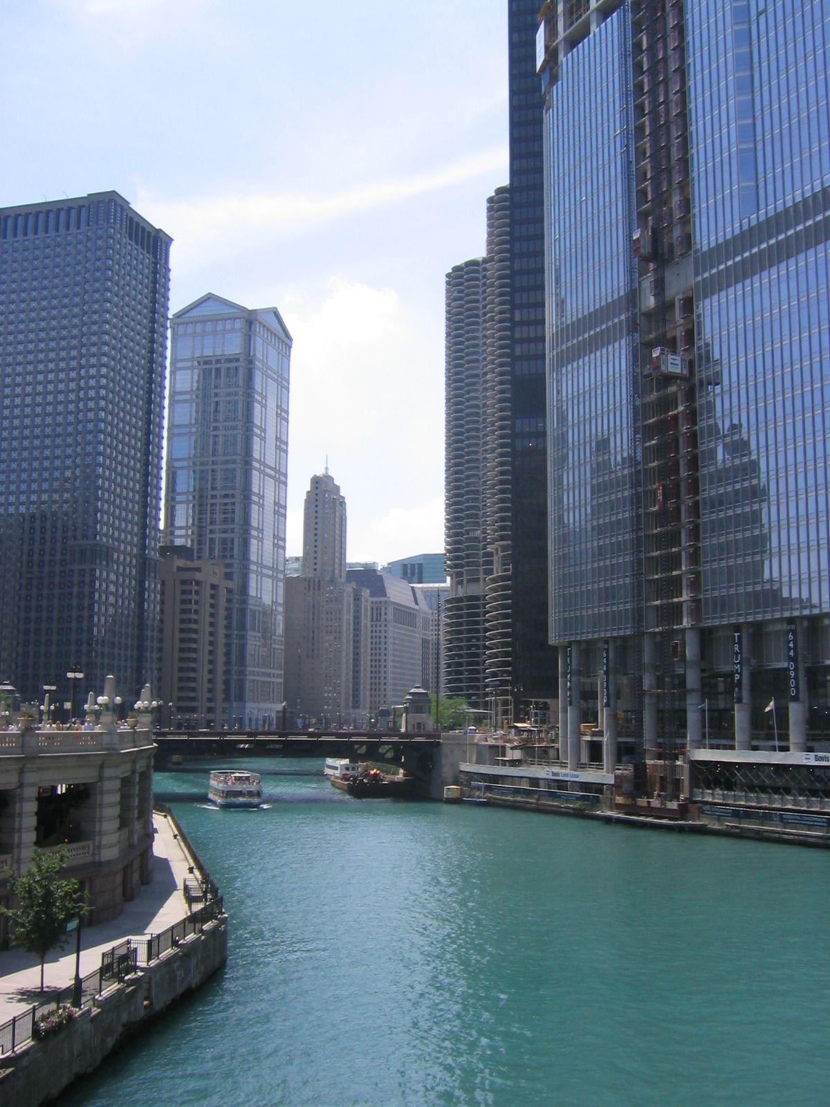 Downtown Chicago, 2007 | I love Chicago! | Pinterest
