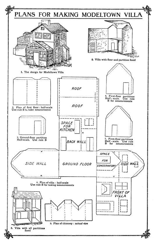 Инструкция дома из картона своими руками